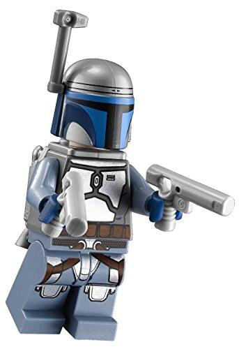 Lego Compatible Star Wars Episode Ii Jango Fett Minifigure  75015