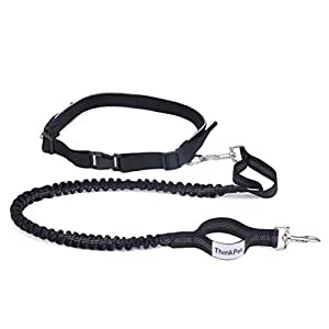 amazon com   thinkpet hands free running dog leash