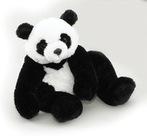 PurrFection 1706 Gansu - Panda Bear with Beanbag Plush -Pack of -