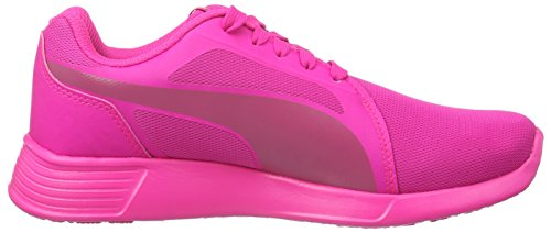 Puma Unisex-Kinder ST Trainer Evo Low-Top, Pink (Pink Glo-Fuchsia Purple 08), 37 EU