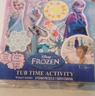 - Disney Frozen Tub Time Activity