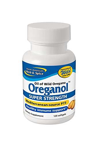 Oreganol P73, Super Strength - 120 Softgels by North American Herb and Spice