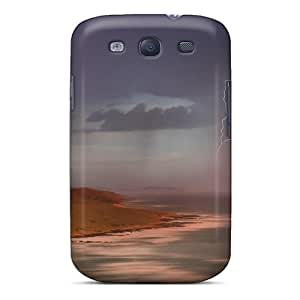 Shock-dirt Proof Amazing Lightning Scape Case Cover For Galaxy S3