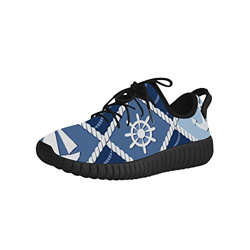D-Story Anchor Rudder Grus Mens Boost Shoes Boost Sneakers Energy Bounce Breatheable Woven Running Mens Shoes