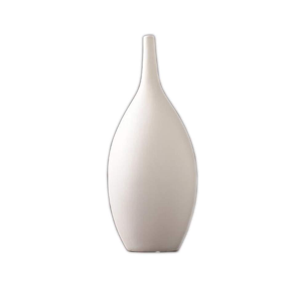 セラミック花瓶、デスクトップの装飾家のリビングルームの装飾手作りの花瓶(1個) TIDLT (サイズ さいず : 19*39*17cm) B07J4DVHTC 19*39*17cm  19*39*17cm