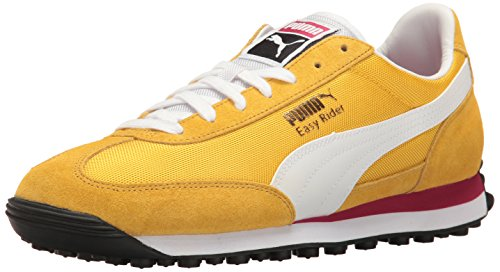 PUMA Easy Rider Fashion Sneaker, Solar Power-Puma White, - Puma Yellow