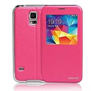 LHY Special Design To a Metal Frame And Metal Full Body Case for S5 I9600 (Assorted color) , Rose