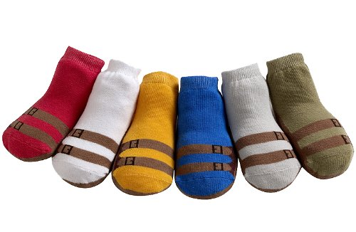 0-12M Sandals Jazzy Toes Baby Socks Boys