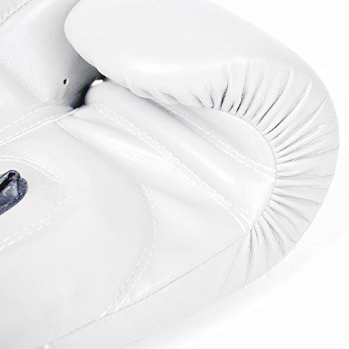 Style Frappe Kickboxing Thai Sac Fairtex D'entraînement Muay Blanc Gants De Boxe BFqHTXZ