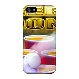 Slim Fit Tpu Protector Shock Absorbent Bumper Beerpong Case For Iphone 5/5s
