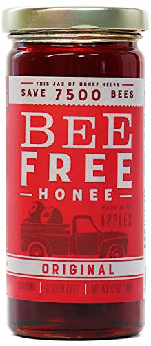 "Bee Free Honee – Vegan ""Honey"" made from Organic Apples that's Safe for Children & those allergic to Honey! Tasty Honee that's Plant Based, Non-GMO & Cooks Perfectly into your ()"
