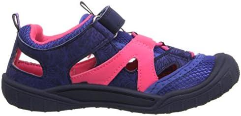 OshKosh B/'Gosh Drift-G Boy/'s and Girl/'s Bump Toe Sandal Blue//Pink 7 M US Toddler