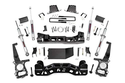 Rough Country 558 24 6 Inch Suspension Lift Kit W Performance N3 Shocks Struts For Ford 11 13 F150 4wd
