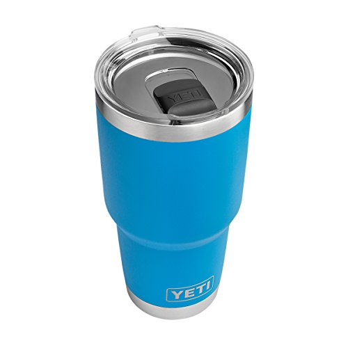 YETI Rambler 30 oz Stainless Steel Vacuum Insulated Tumbler w/ MagSlider Lid, Tahoe Blue (Tahoe Coat)