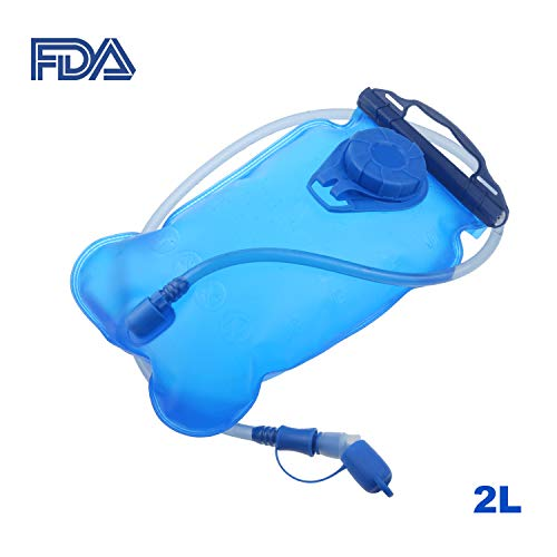 Hydration Bladder 2/3 Liter - Water Bladder for Hydration Pack (2L) by Swamerfa (Image #9)
