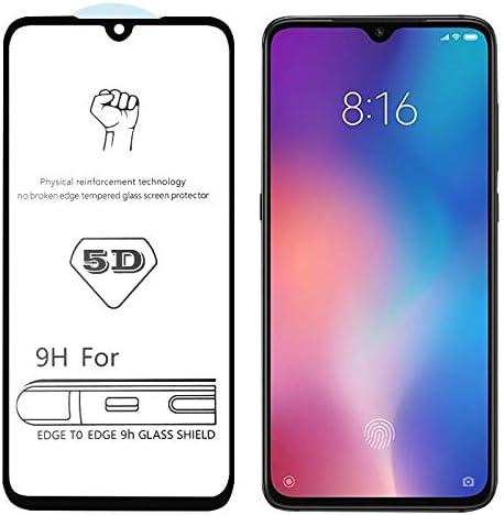Linmatealliance Phone Screen Protector 25 PCS 9H 5D Full Glue Full Screen Tempered Glass Film for Xiaomi Redmi Note 4X