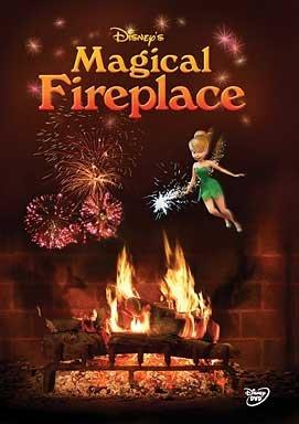 Disney's Magical Fireplace DVD