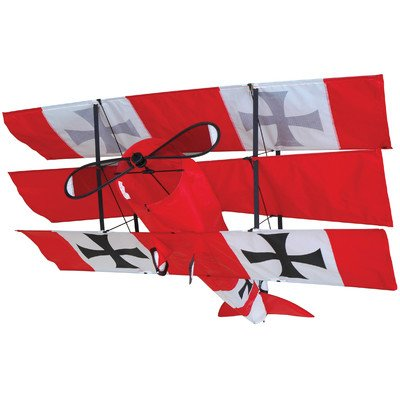 Red Triplane Baron (Red Baron Tri-Plane Kite)