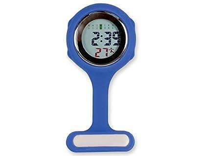 GIMA ns888 Reloj para Enfermeros, Digital, Azul