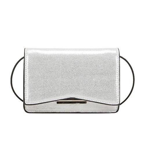 Bolsos De Hombro De Las Mujeres Simple Coreano Mini Square Ladies Bag Shopper Partido De Cuero Banquete Retro White