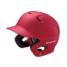 EASTON Z5 2.0 Batting Helmet | Baseball Softball | Senior | Matte Red | 2020 | Dual-Density Impact Absorption Foam | High Impact Resistant ABS Shell | Moisture Wicking BioDRI Liner | Removable E