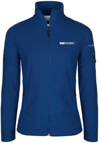 ECPI Columbia Ladies Full Zip Royal Fleece Jacket ECPI University Flat