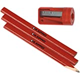 Kapro 275S Sharpener and 3 Pencil Set