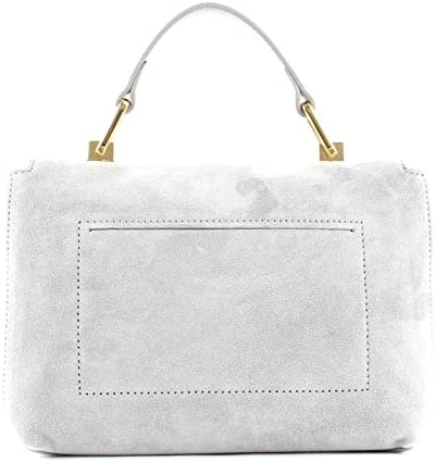 Coccinelle Liya Suede Small Handbag Dolphin
