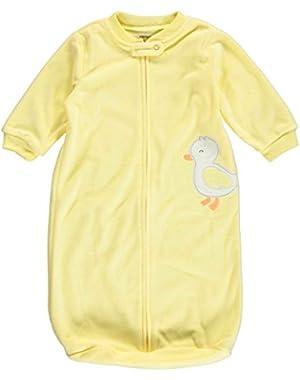 Carters Unisex Baby Appliqué Fleece Sleepsuit Microfleece Sleepbag