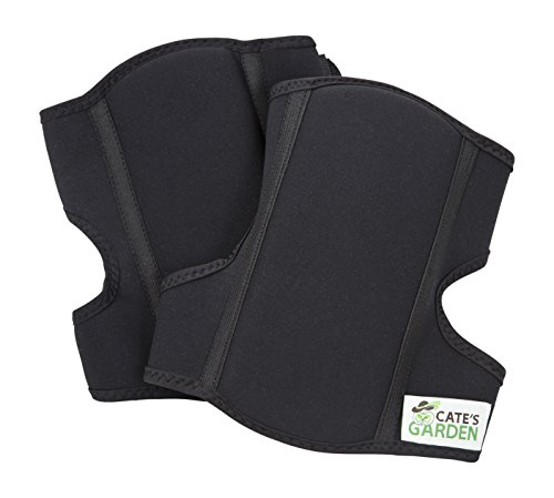 Cates Garden Knee Pads – Soft Comfort Garden Knee Pads for the Home Gardener – Neoprene, Soft, Water-resistant Construction