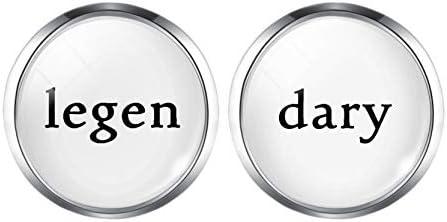 KATH メンズシャツシルバー色のカフスボタンのための古典的なカフスリンクシルバーメッキカフスボタン・アクセサリー引用ジュエリーユニークなウェディングギフト (Metal color : H10432)
