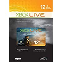 Xbox LIVE Gold 12-Month +1 Membership Card (Xbox 360)