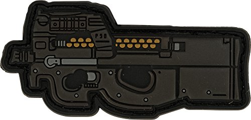 P90 Series - Evike Aprilla Design PVC IFF Hook and Loop Modern Warfare Series Patch (Gun: P90)