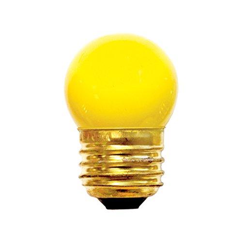(Bulbrite 702007 - 7.5S11W - White 7.5 Watt S11 Light Bulb, 130 Volt Long Life by Bulbrite)