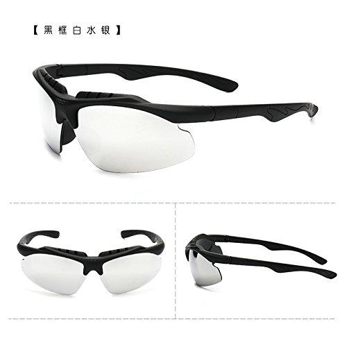 coupe - vent des bicyclettes motocyclettes lunettes de soleil les lunettes de soleil avec des lunettes course sports de plein air des lunettes de soleil les hommes et les femmes tideboîte verte (sac) HlxFGy14j