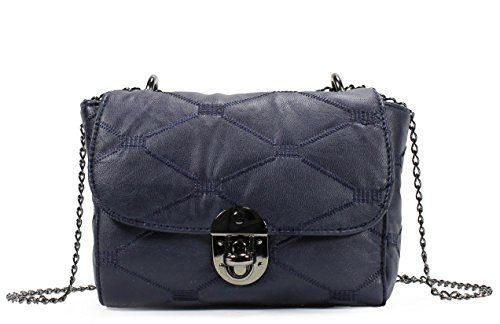 quilted messenger bag - 5