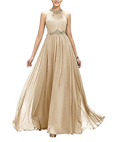 Damen Leader Kleid of the champagnerfarben Beauty wStCS