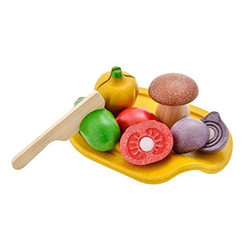 Plan Toys Activity Assorted Vegetable Playset