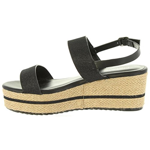 Negro Sandales CHIKA10 01 Femme Dona pour WFFnqx8Sv