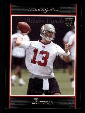 2007 Bowman # 124 Zac Taylor Tampa Bay Buccaneers (Football Card) Dean's Cards 8 - NM/MT Buccaneers