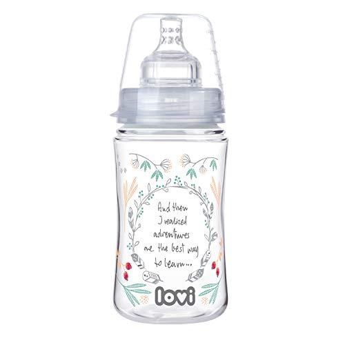 LOVI babyfles  240 ml  3+ maanden  met dynamische drinkspeen  AntikrampjessysteemMedisch getestTrends Indian Summer