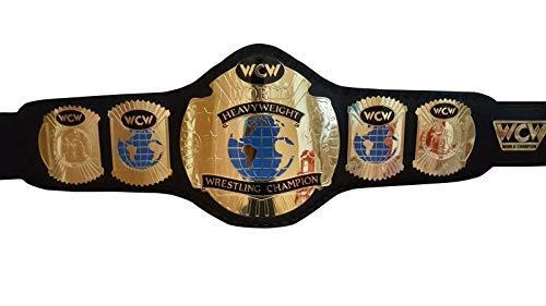 WCW Heavy Weight Wrestling World Championship Belt.Adult Size Replica
