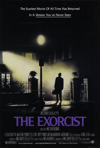 Image result for the exorcist movie poster