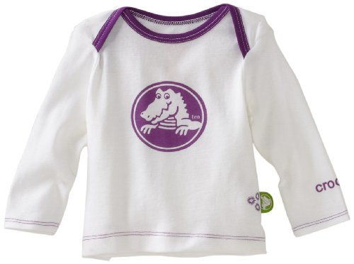 Crocs Unisex-baby Newborn Newborn Long Sleeve Sleep Tee
