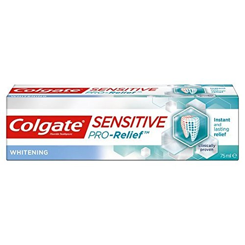 Colgate Sensitive Pro-Relief Whitening Toothpaste 75ml (6 Pack)