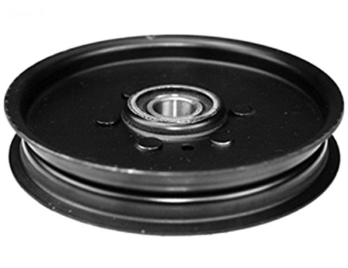 Flat Idler Pulley Replaces John Deere AM106627
