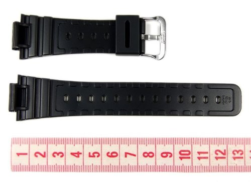 Genuine Casio Replacement Watch Strap 71604348 for Casio Watch GW-M5610-1BV, DW-5600E-1VW + Other models