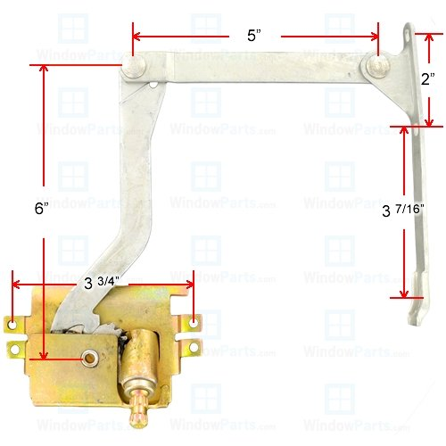 Pella Roto Operator Right Hand (1967-1993)