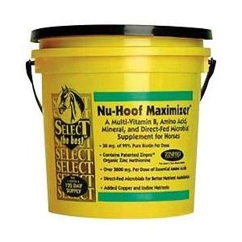 RICHDEL 784299391000 Nu-Hoof Maximizer Hoof & Coat Support for Horses, 10 lb by RICHDEL