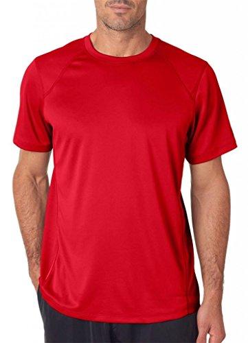 Xl Camiseta Hombres Los Tempo Rendimiento Red De Cherry U8OqU0